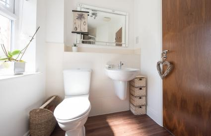 bathroom interior of a home