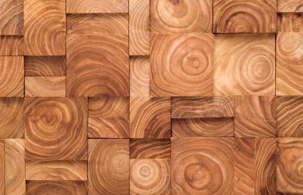 Wood Ring Pattern Blocks