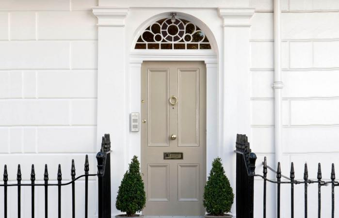 east facing front door