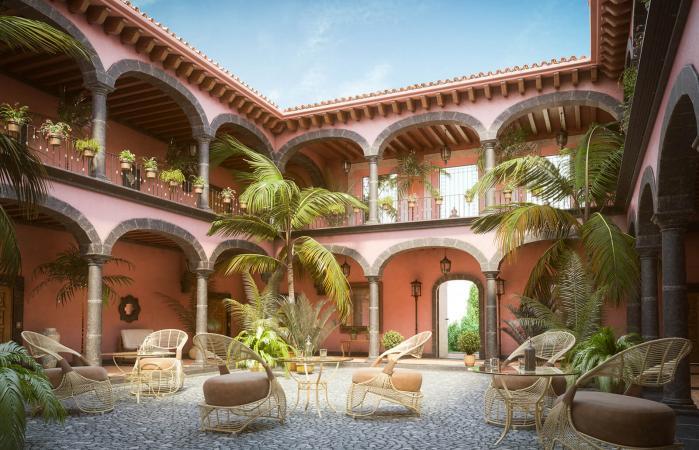 luxurious Mexican hacienda