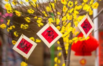 Fu Lu Shou calligraphy