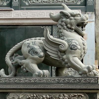 Wen Wu Temple With Pixiu