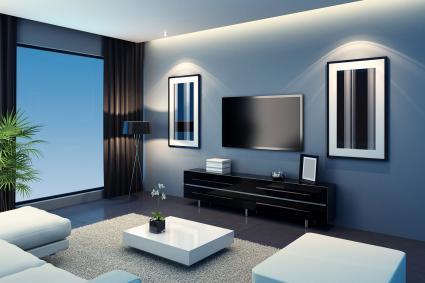 Cool TV Room