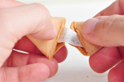 Checking the lucky numbers in a fortune cookie