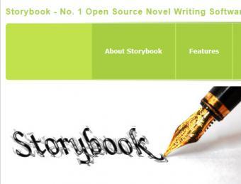 Storybook novel writing software