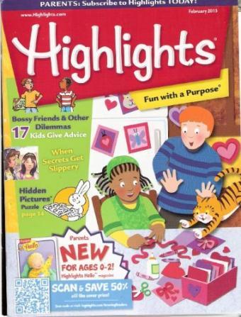 Highlights For Children Magazine