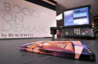 books on demand expresso book machine
