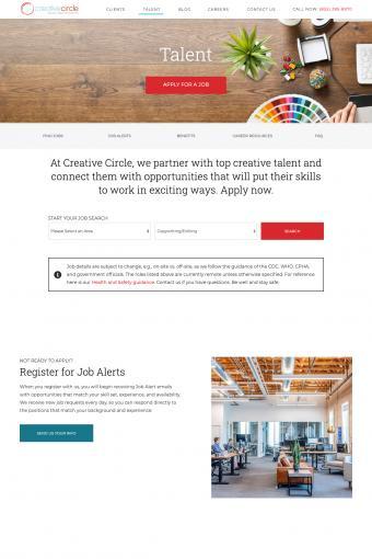 Creativecirce Website