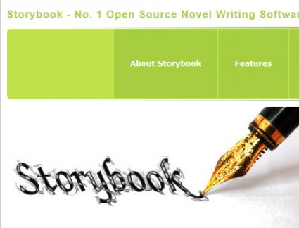 Storybook novel writing software