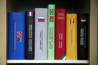 List of French English Dictionaries