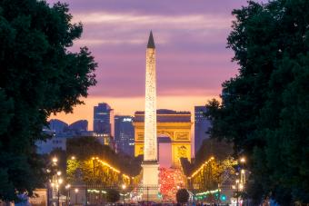 From Concorde to Arch of triumph
