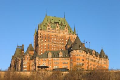 Picturesque Chateau Frontenac attracts many tourists each year.