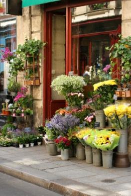 Des fleurs a Paris.
