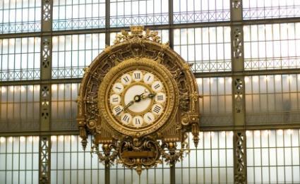 Famous Parisian Clock