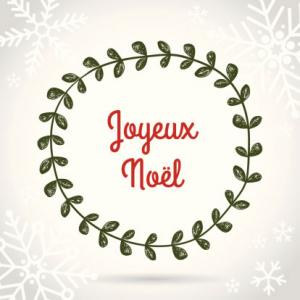 joyeux noel - Merry Christmas French