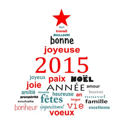 french greeting card text - Email Christmas Cards