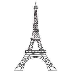 Eiffel Tower Clipart 2