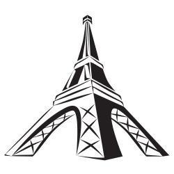 Eiffel Tower Clipart 3