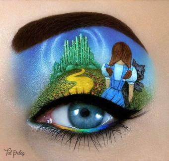 Wizard of Oz Eye Art by Tal Peleg