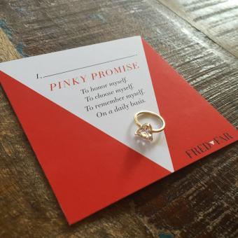 Self Love pinky ring
