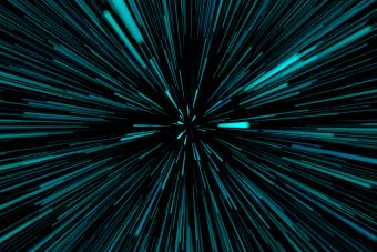 Hyperspace background
