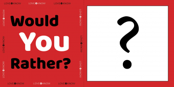 Would you rather card: Questions for Young Kids