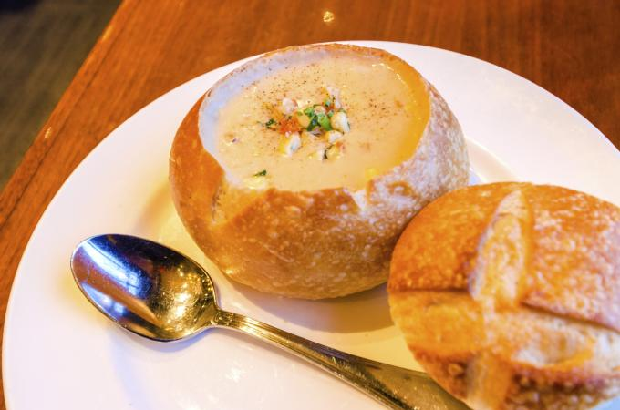 Sourdough Clam Chowder