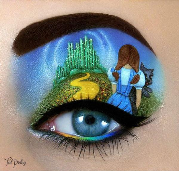 Wizard of Oz Eye Art by Tal Peleg