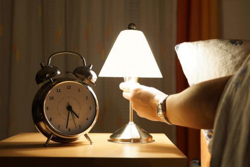 Turning off nightlight