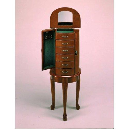 ... Queen Anne Jewelry Armoire Best Of Standing Mirror Jewelry Armoire  Lovetoknow