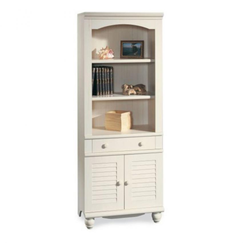 Antique White Bookcase From Sauder Available At Amazon