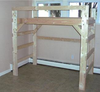 The Manhattan Solid Wood Loft Bed