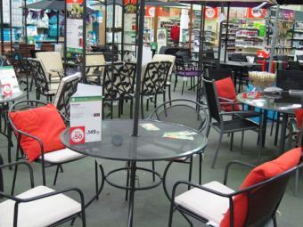 Patio furniture on sale; © Paul Burr | Dreamstime.com