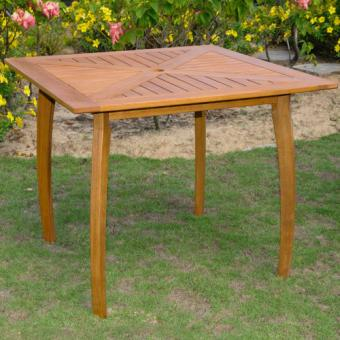 Sabbattus Wood Patio Bistro Table
