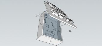 Cabinet letter diagram