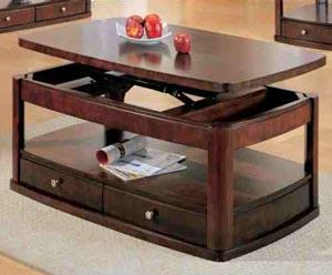 Lift Top Coffee Table Source. An Adjustable Height ...