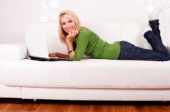 comfy small sofa