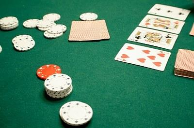 poker table surface