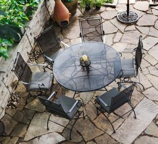 A lovely patio set