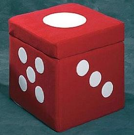 Foam Ottoman Cube