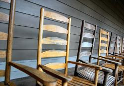 Rocking Chairs Without Cushions