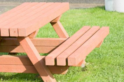 Picnic Table Kits - Picnic table bracket kit