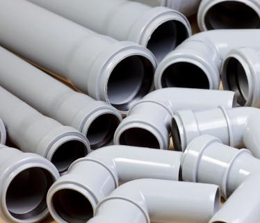 PVC pipes and fittings