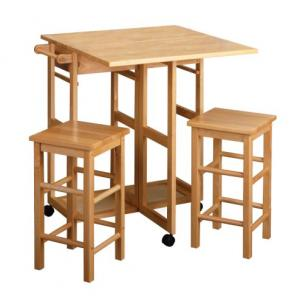 Winsome Space Saver Table and Stools at Amazon.com