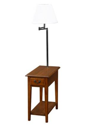 End Table With Built In Lamp Options Lovetoknow