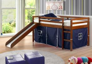 loft bed with a fort