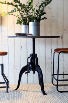 Amazing Adjustable Industrial Table from Rockett St. George