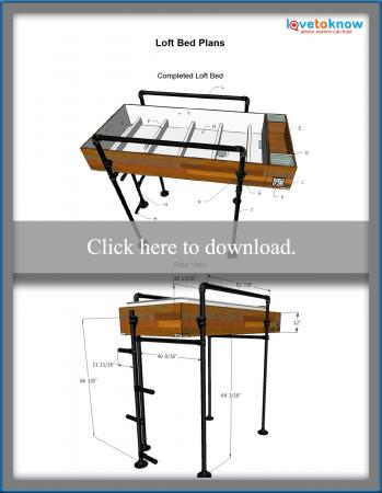 Download loft bed plans.