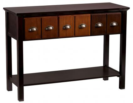 Wells Console Table Apothecary - Aiden Lane
