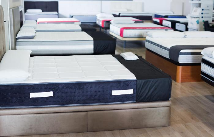 new mattresses in the store